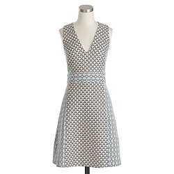 Collection double-jacquard dress