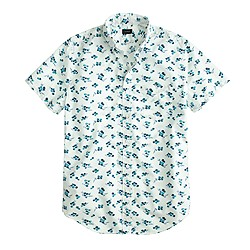 Secret Wash short-sleeve shirt in seaport floral