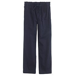 Boys' lightweight chino pull-on pant