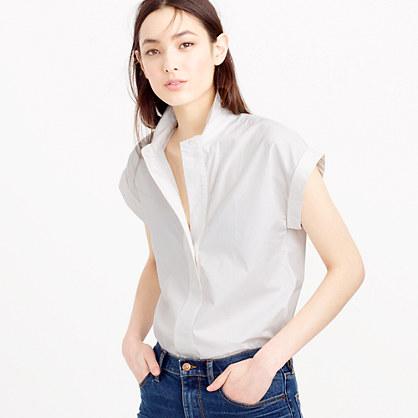 Tall short-sleeve popover shirt