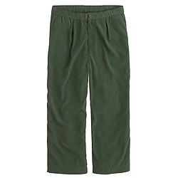 Drapey patio trouser