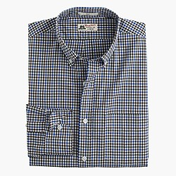 Slim Thomas Mason® for J.Crew shirt in gatehouse green tattersall