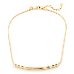 Minimalist cord necklace