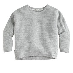 Collection ribbed sweatshirt