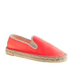 Espadrille slip-on sneakers