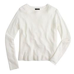 Linen swing sweater
