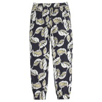 Seaside pant in tropical frond