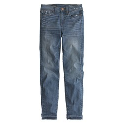 Lookout high-rise crop jean with let-out hem in Hayton wash