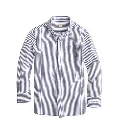 Boys' seersucker shirt