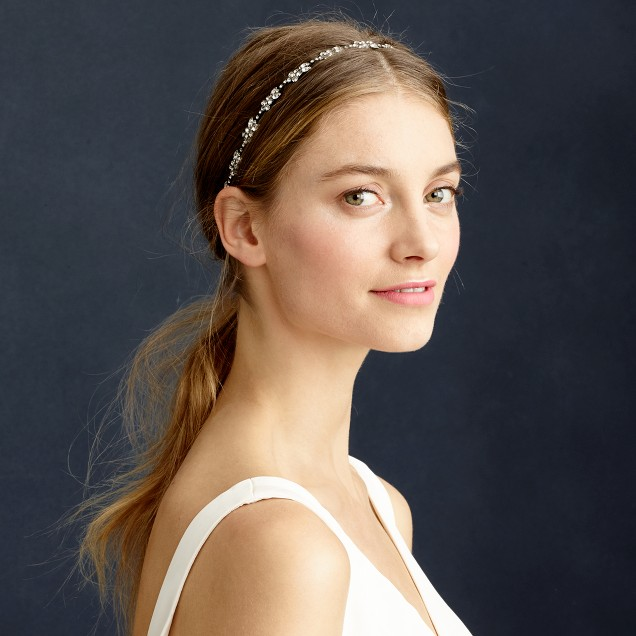 Jennifer Behr single blossom headwrap