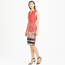 Collection watercolor mosaic dress
