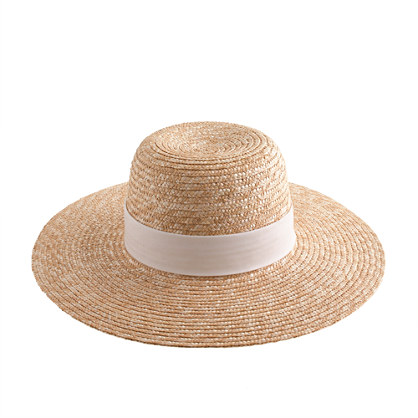 Wide Brim Floppy Hat Wide-brimmed Straw Hat