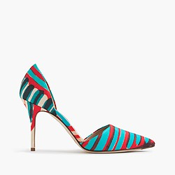 Elsie fabric d'Orsay pumps