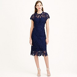 Collection scalloped lace dress