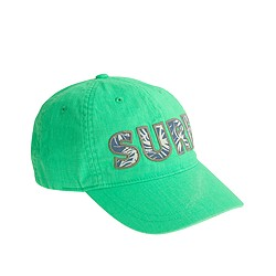 Boys' surf baseball cap