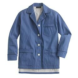 Collection denim pajama shirt-jacket
