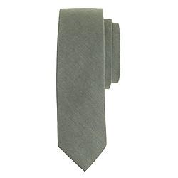 Cotton tie in sage