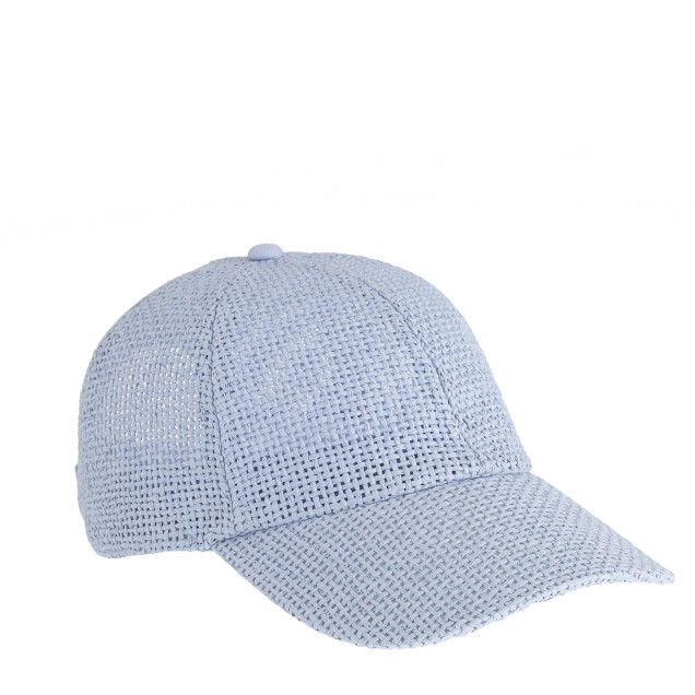 Woven baseball cap