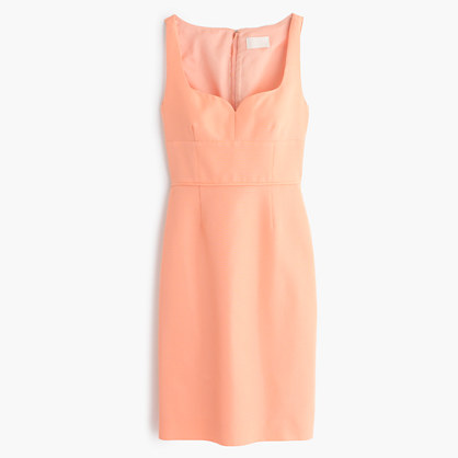 Mae dress in classic faille