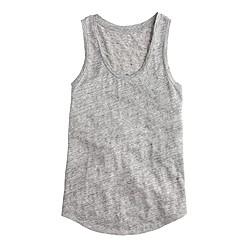 Linen tank top