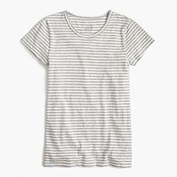 Short-sleeve painter T-shirt in stripe