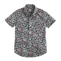 Boys' Secret Wash short-sleeve shirt in floral