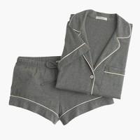 Short-sleeve pajama set