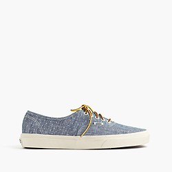 Vans® for J.Crew denim dot authentic sneakers
