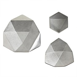 AKMD™ origami bowls in aluminum