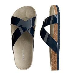 Girls' Bodie patent sandals