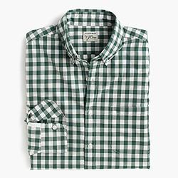 Slim Secret Wash shirt in medium gingham