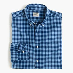 Tall Secret Wash shirt in medium gingham