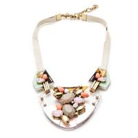 Techtonic necklace