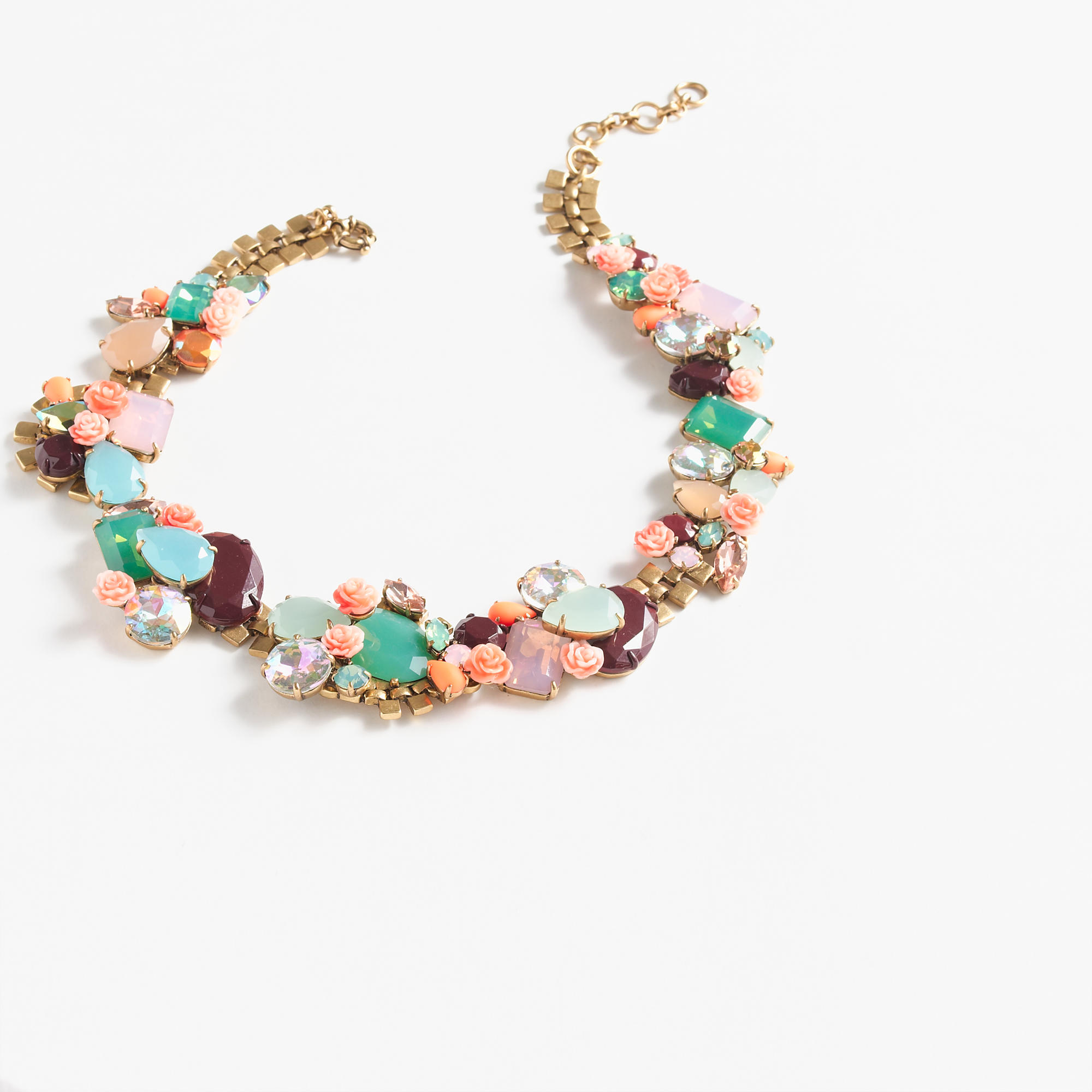 Wildflower statement necklace j crew for J crew jewelry 2015