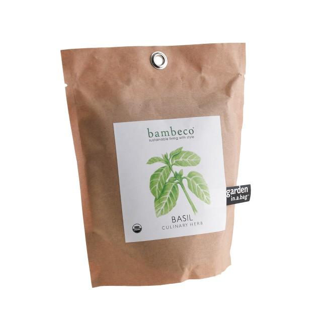 Bambeco™ garden-in-a-bag organic herb collection