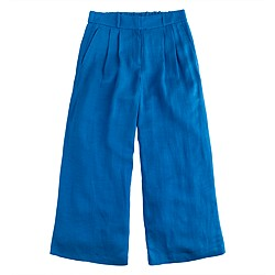 Collection cropped linen pant