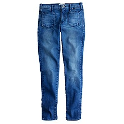 McGuire™ Inez patched slim jean in lighthouse wash