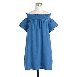 Apiece Apart™ Crete smocked-neck dress