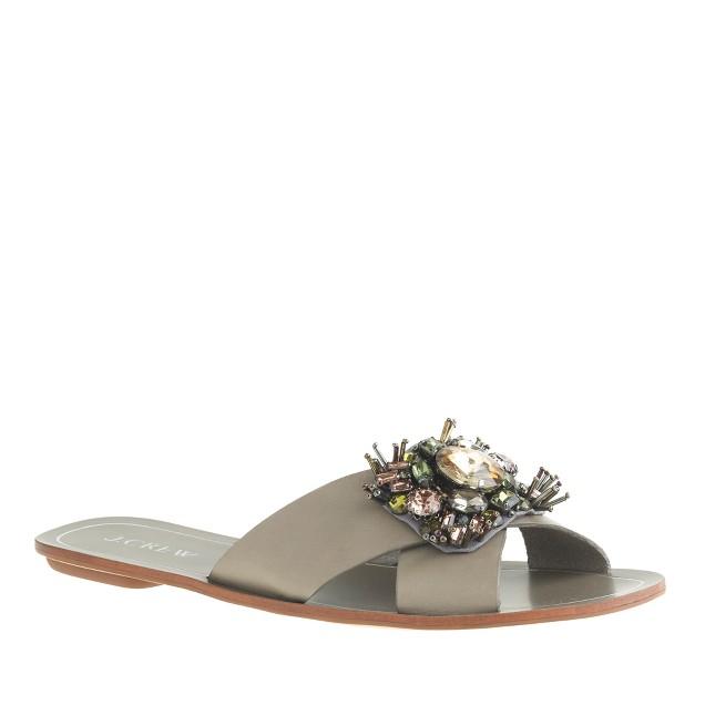 Cyprus jeweled sandals