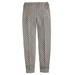 Collection ankle-zip pant in jacquard