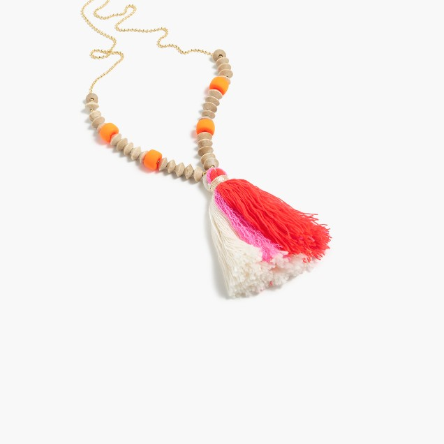 Bluma Project® lolo tassel necklace