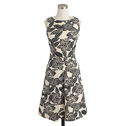 Sleeveless Polynesian floral dress