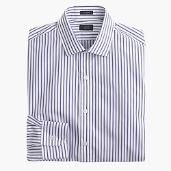 Ludlow shirt in casablanca blue stripe