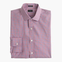 Ludlow shirt in beacon red check