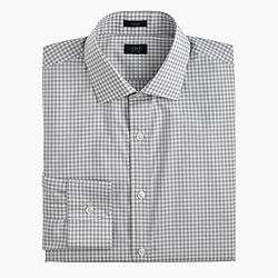 Crosby shirt in misty fog gingham