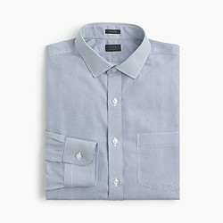 Ludlow traveler shirt in aqua check