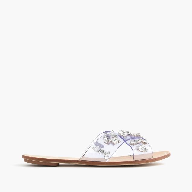 Cyprus crystal sandals