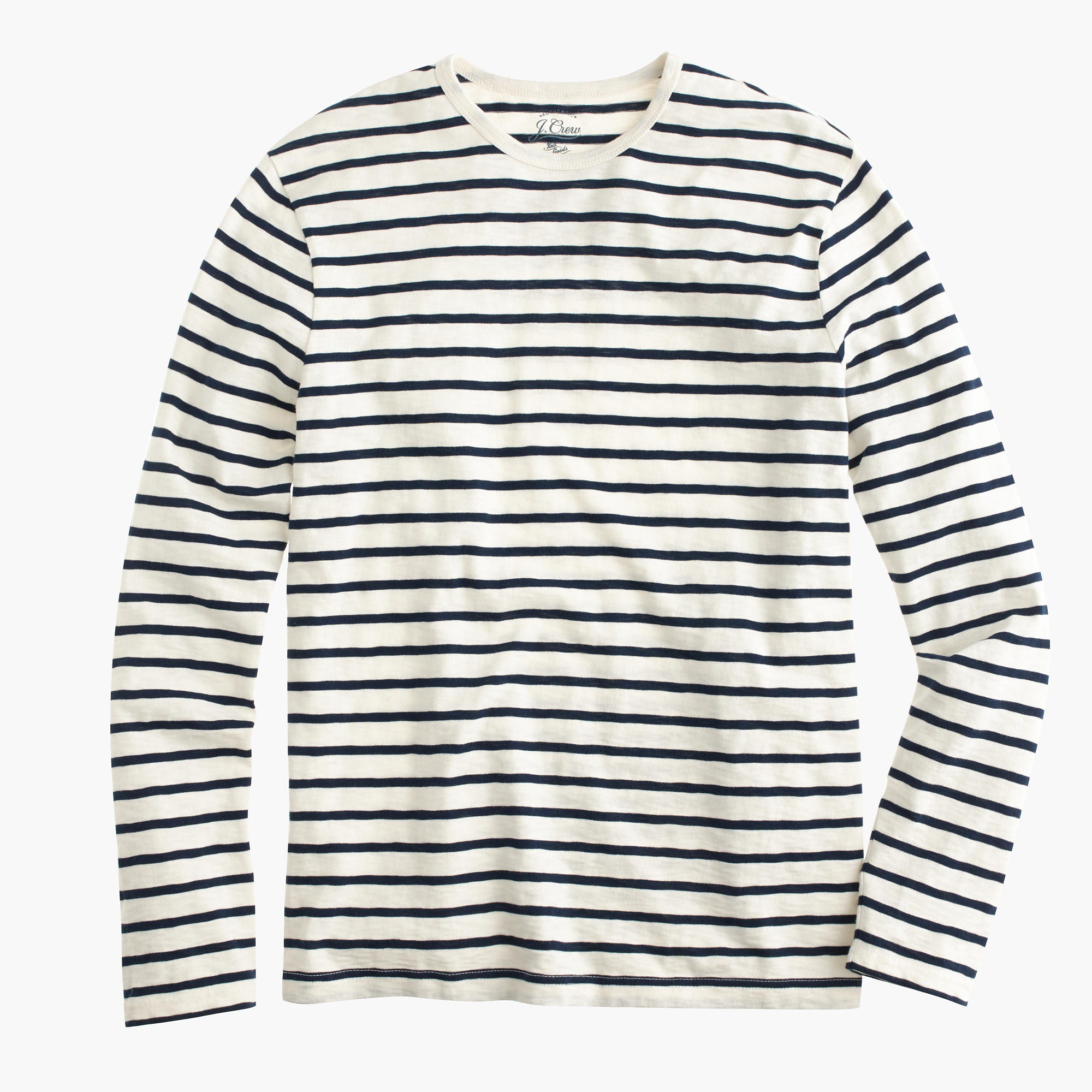 Long-Sleeve Deck-Striped T-Shirt : Men's Tees | J.Crew
