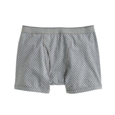 Large dot knit boxer briefs : underwearsleepwear J.Crew