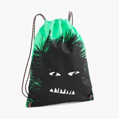 Kids' drawstring backpack - bags -Boys- J.Crew